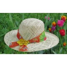 251913 Chapeau makara floral
