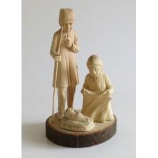 353 Hand carved Christmas crib