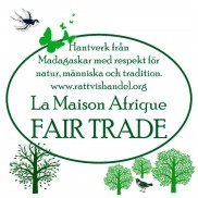 La Maison Afrique FAIR TRADE hantverk med ekologi i fokus.