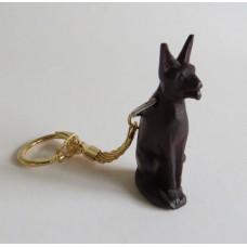 3112 Nyckelring snidad hund