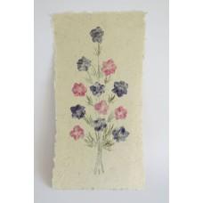 131 Blomstertavla 40x20 cm