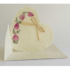 1110 Heart shaped card