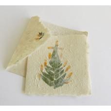 1112 Christmas card: Christmas tree