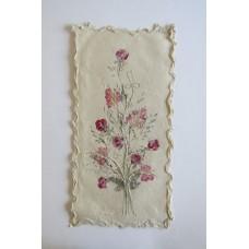 1311 Blomstertavla 40x20cm med rullad kant