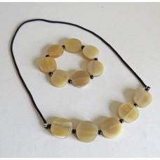 4516 Smycke set: Halsband + Armband