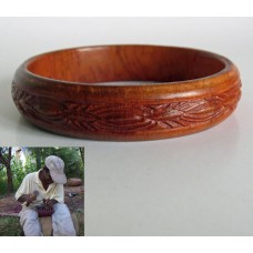 3112 Bangle handcrafted in wood