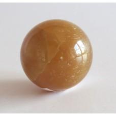 51212 Klot brun kalcit D=35mm