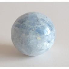 5129 Klot blå kalcit D=35mm