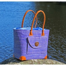 241011 Väska Poche Rabane-Leather PM