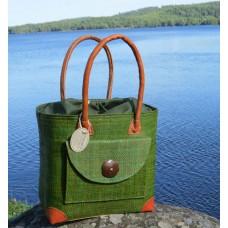 241011 Bag Poche Rabane-Leather PM