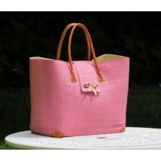 24106 Väska Languette Rabane-Leather GM