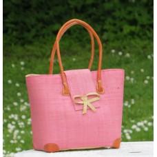 24108 Väska Languette Rabane-Leather PM