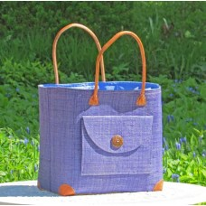 24109 Bag Poche Rabane-Leather GM