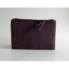 227 Portemonnaie Vävd raffia
