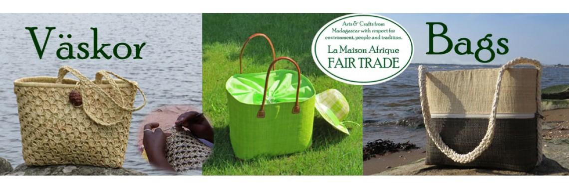 Väskor - La Maison Afrique FAIRTRADE