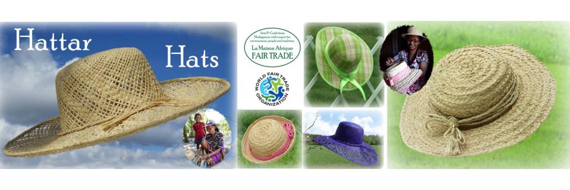 la maison afrique FAIRTRADE hats