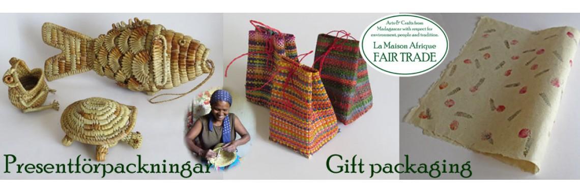 Presentförpackningar - La Maison Afrique FAIR TRADE