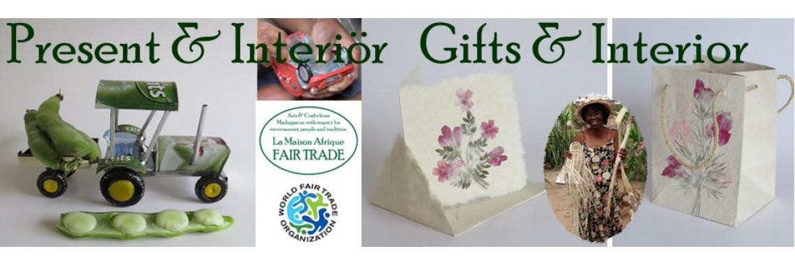 La Maison Afrique FAIRTRADE  gifts and interior