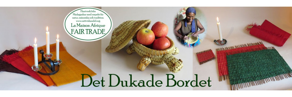 Det Dukade Bordet - La Maison Afrique FAIRTRADE