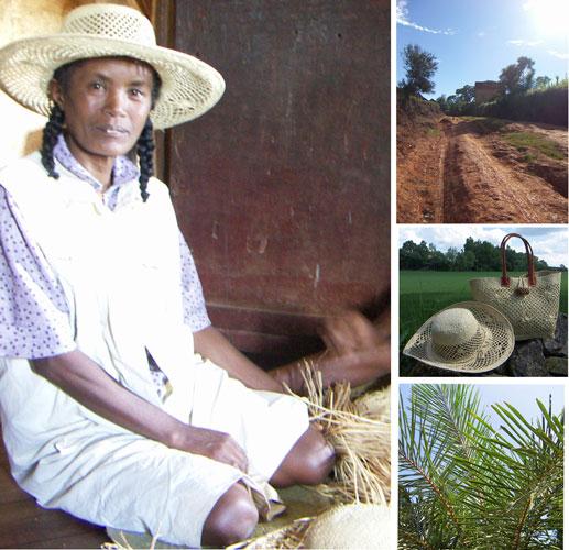 kvinnlig hantverkare i det rurala afrika - en person att beundra