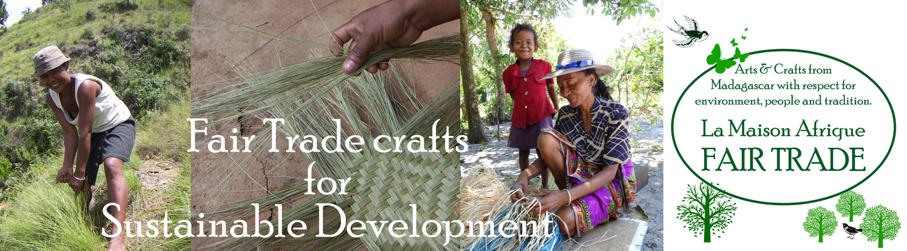 Fairtrade crafts for Sustainable Development